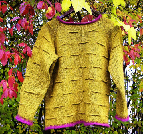 "Anleitung Pullover/Pattern Sweater ""Autumn"", Rimu Fingering"
