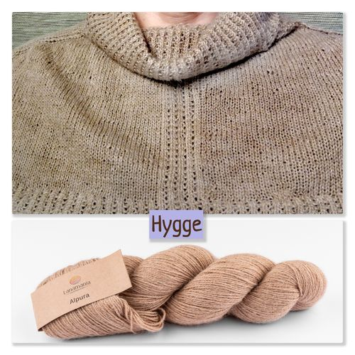 Strickpaket Neckwarmer Hygge