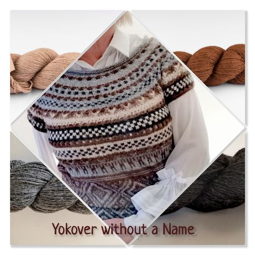 Strickpaket Slipover YOKOVER without a Name