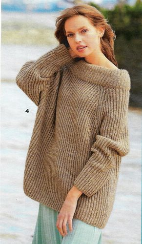 Design Pack Sabrina 10/20 Brioche Sweater Natural
